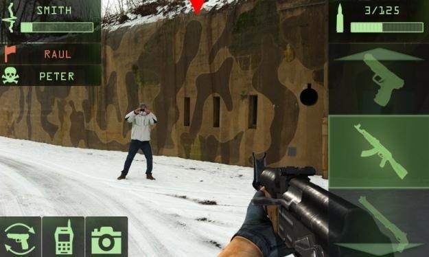 """Kadr z polskiej gry """"The ShootAR"""" /materiały prasowe"""
