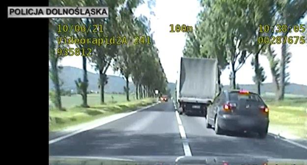 Kadr z pościgu /Policja