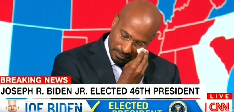 Kadr z programu stacji CNN z udziałem Vana Jonesa /YouTube
