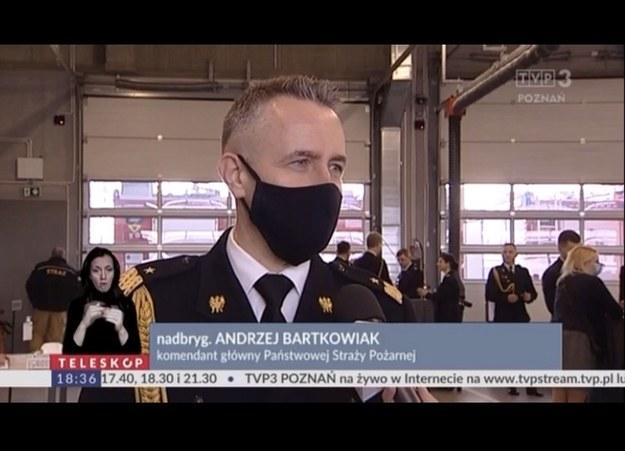 """Kadr z programu """"Teleskop"""", poznańskiego oddziału TVP /"""