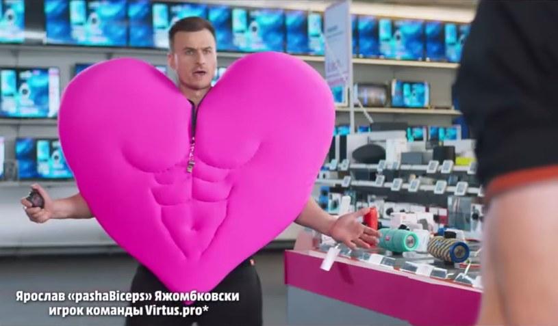 Kadr z rosyjskiej reklamy Media Markt umieszczonej w serwisie YouTube /materiały źródłowe