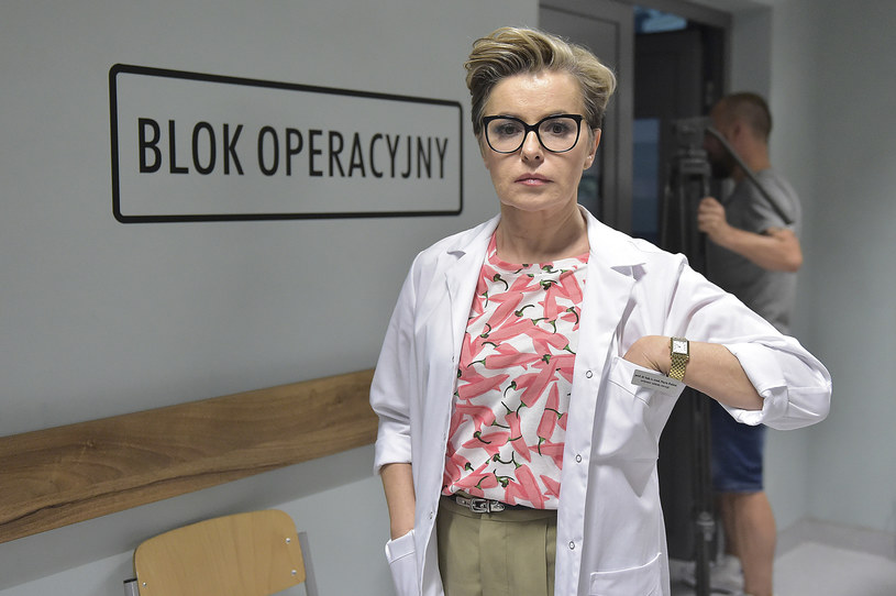 """Kadr z serialu """"Diagnoza"""", w którym wystąpią też m.in. Maja Ostaszewska i Maciej Zakościelny /Gałązka /AKPA"""