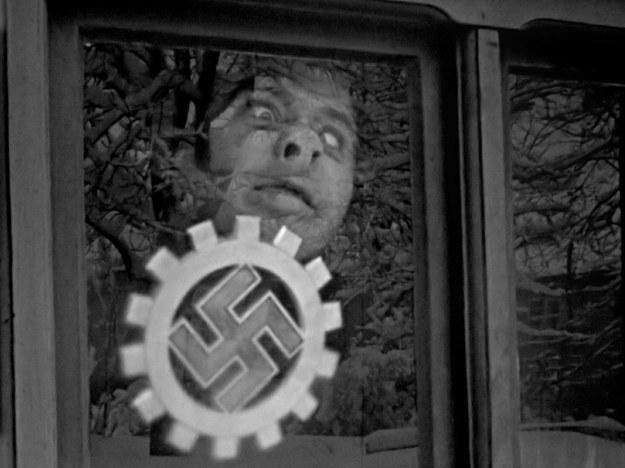 """Kadr z serialu dokumentalnego """"Kroniki Hitlera"""" /materiały prasowe"""