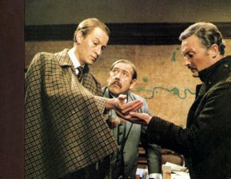 """Kadr z serialu """"Sherlock Holmes and doctor Watson"""" /materiały prasowe"""