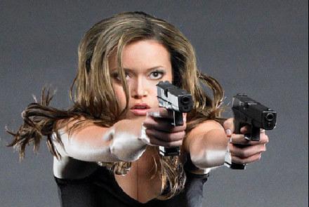 "Kadr z serialu ""Terminator: Kroniki Sary Connor"" /"