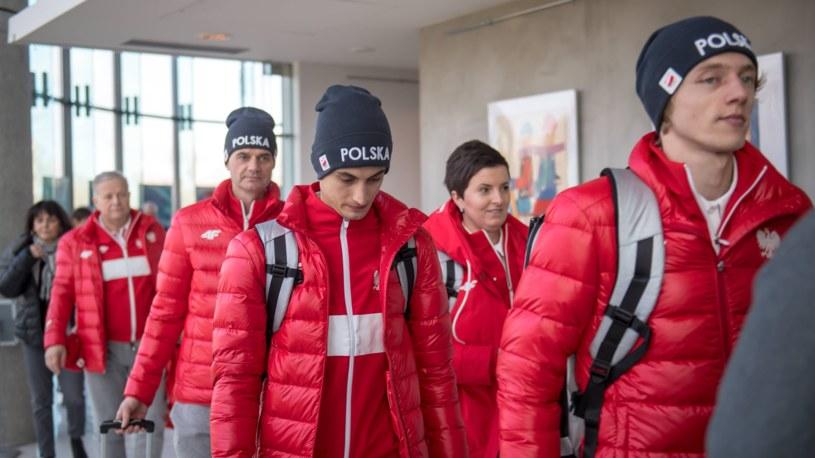 Kadra skoczków w drodze na igrzyska olimpijskie w Pjongczangu /Newspix