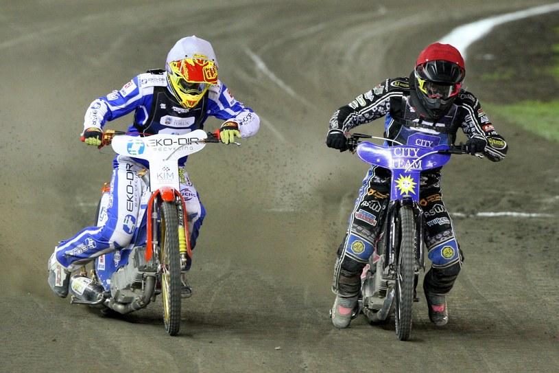 Kai Huckenbeck (z prawej) /Michał Szmyd /Newspix
