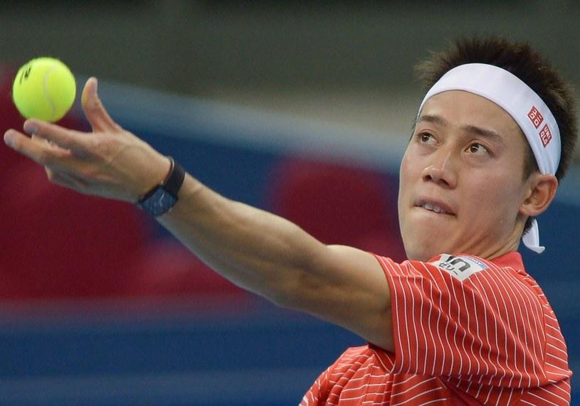 Kai Nishikori /AFP