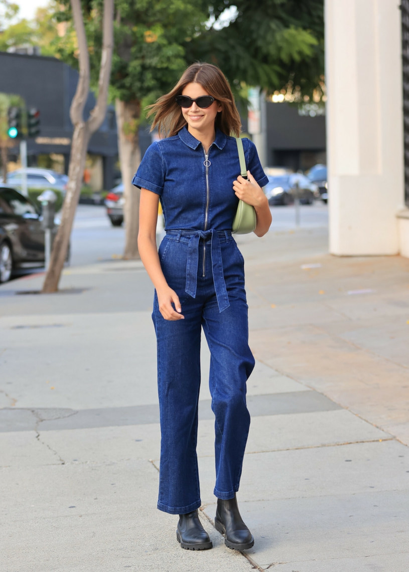 Kaia Gerber jest córką modelki Cindy Crawford /BACKGRID /East News