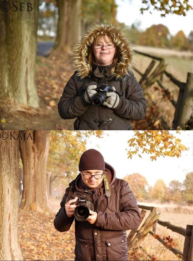 Kaja w obiektywie swojego taty i Sebastian Łuczywo zatrzymany w kadrze przez swoją córkę /zdjęcie pochodzi z profilu: https://www.facebook.com/SebastianLuczywoPhotospace/ /facebook.com
