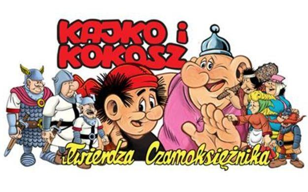 Kajko i Kokosz: Twierdza Czarnoksiężnika - motyw graficzny /Informacja prasowa