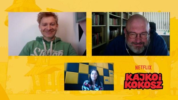 Kajko mówi głosem Artura Pontka, a Kokosz – Michała Pieli. /RMF FM