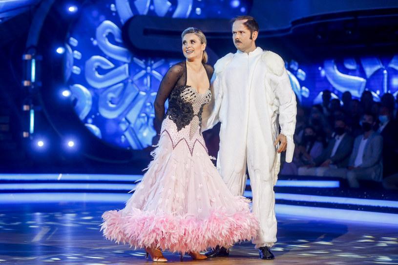 """Kajra i Sławomir na parkiecie w programie """"Dancing With the Stars. Taniec z gwiazdami"""" /AKPA"""