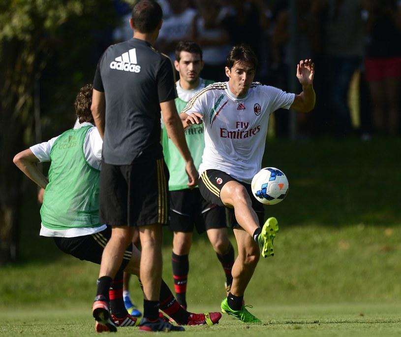 Kaka na treningu Milanu /AFP