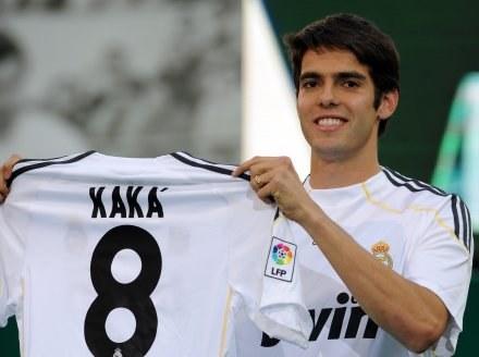 Kaka przeszedł do Realu Madryt z AC Milan /AFP