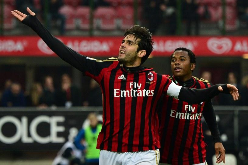 Kaka strzelił dwa gole w meczu z Atalantą Bergamo /AFP