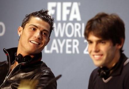 Kaka uważa, że Ronaldo będzie dużym wzmocnieniem Realu /AFP
