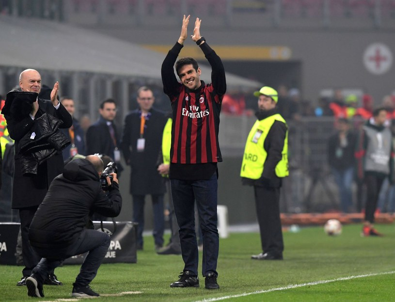 Kaka w koszulce Milanu /AFP