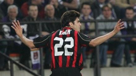 Kaka zapewnił Milanowi trzy punkty /AFP