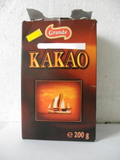 Kakao Grande ma w sobie zaledwie 80 proc. kakao /Internet