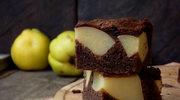 Kakaowiec z jabłkami