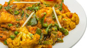 Kalafiorowe curry zorzechami