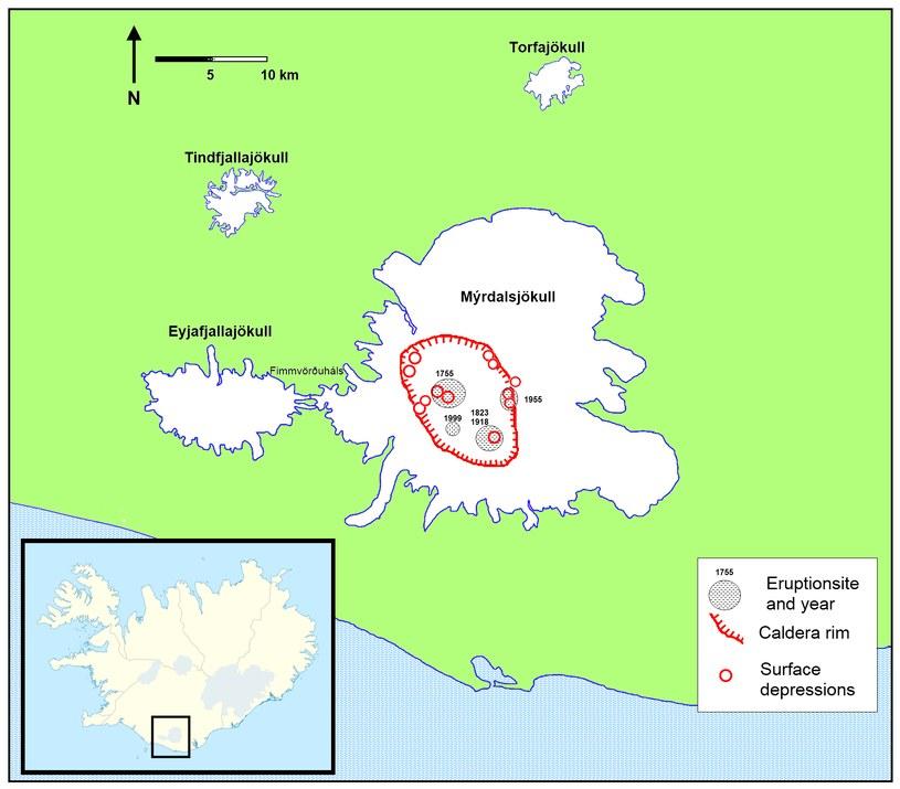 Kaldera wulkanu Katla /Wikipedia