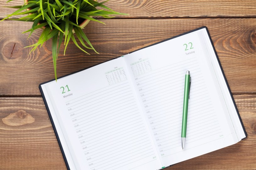 Kalendarz pomaga planować /©123RF/PICSEL