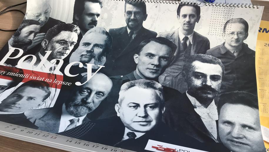 Kalendarz przygotowany przez Polską Fundację Narodową /Grzegorz Kwolek /RMF FM
