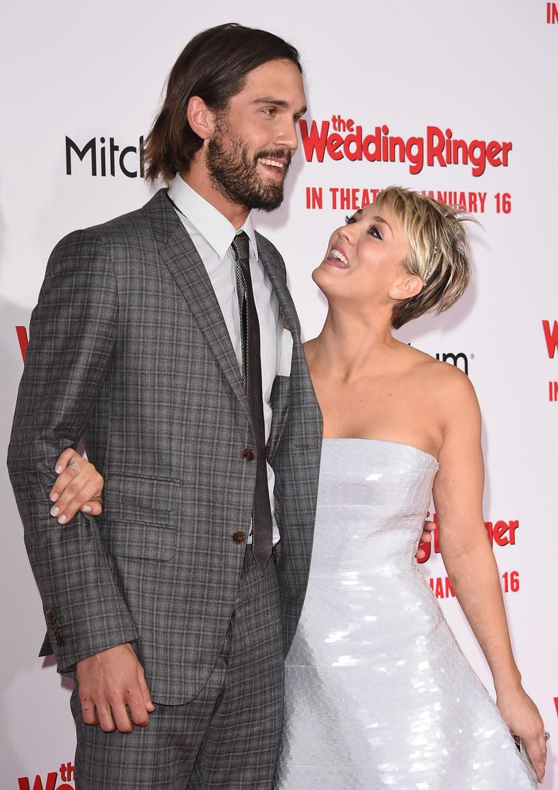 Kaley Cuoco z mężem /Jason Merritt /Getty Images