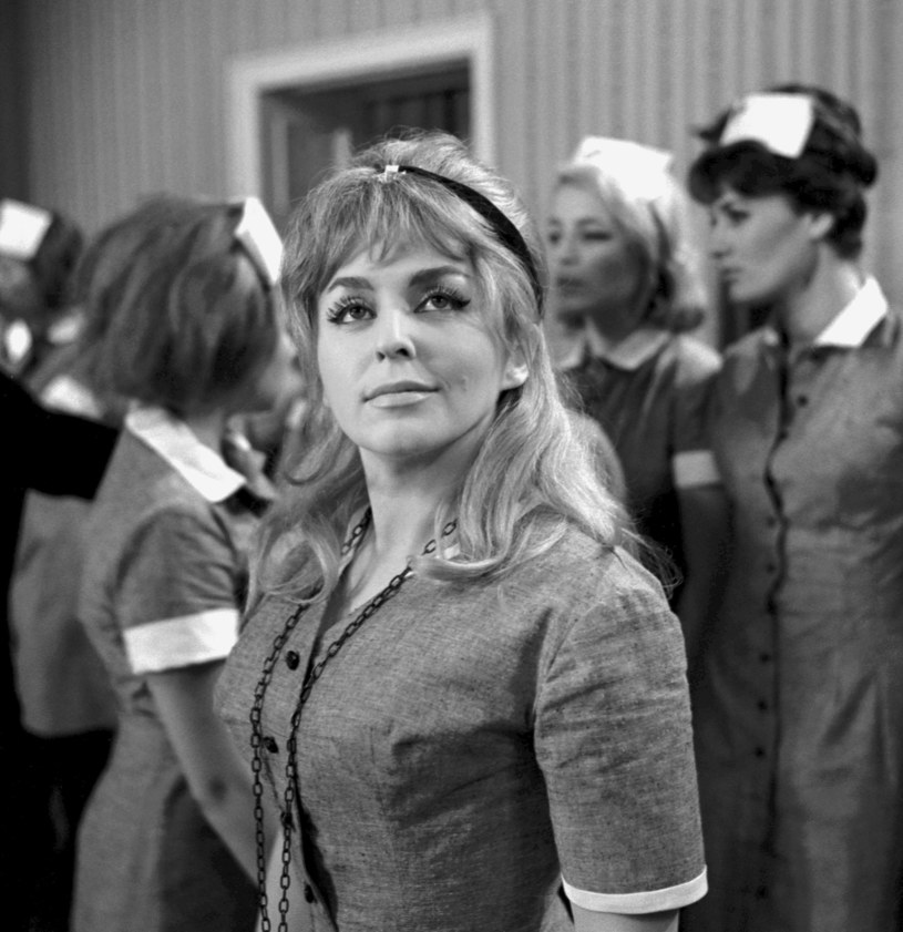 "Kalina Jędrusik w filmie ""Upał"" (1964) /Lucjan Fogiel /East News"