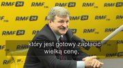 Kalinowski: Nie sądziłem, że Saryusz-Wolski będzie instrumentem w rękach PiS