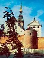 """Kalisz, fragment murów miejskich, baszta """"Dorotka"""", ok. 1 poł. XIV w. /Encyklopedia Internautica"""