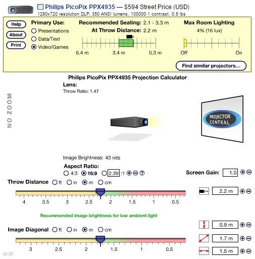 Kalkulator projekcji /materiały prasowe