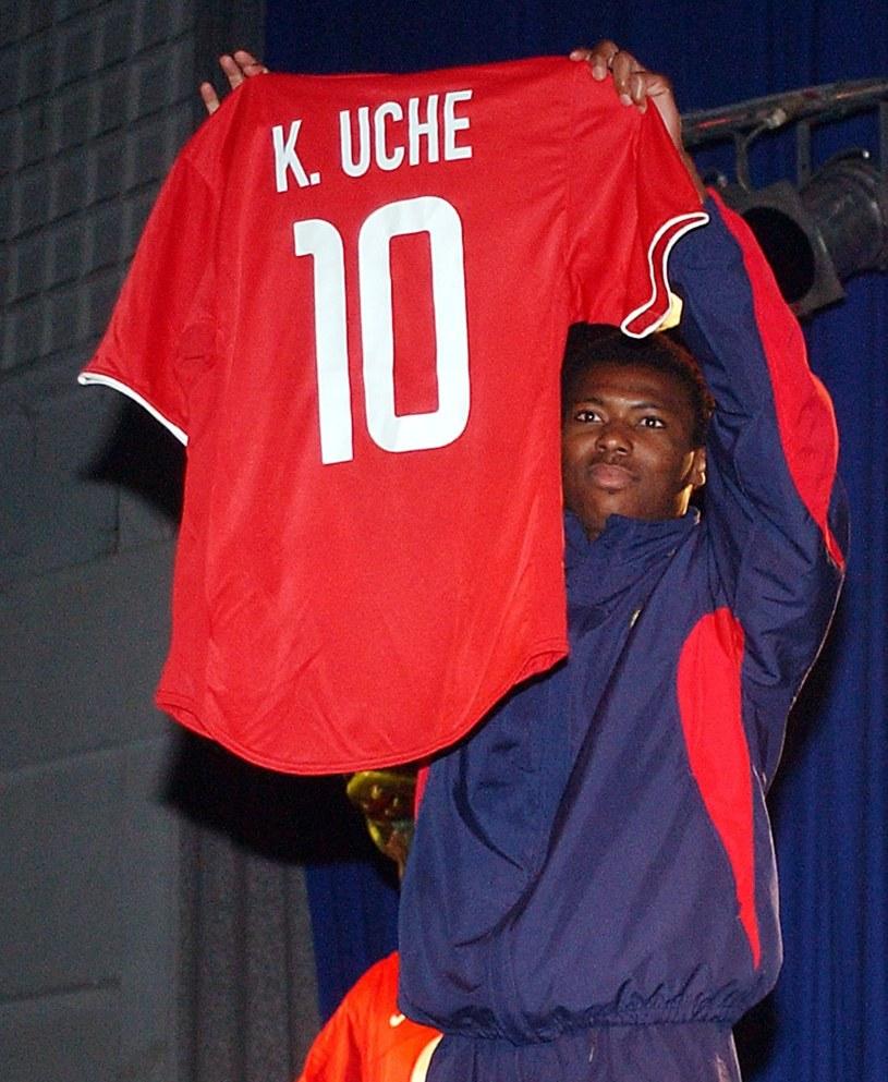 Kalu Uche to jeden z niewielu piłkarzy, którzy grając w Polsce, później trafili do silnych lig w Europie /Michał Klag /East News