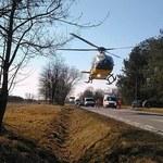Kałuszyn: Osobówka wjechała w grupę rowerzystów. Są ranni