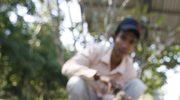 Kambodża: Młode leopardy uratowane z powodzi