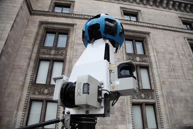 Kamera Google w Warszawie/fot. Tomasz Gzell /PAP