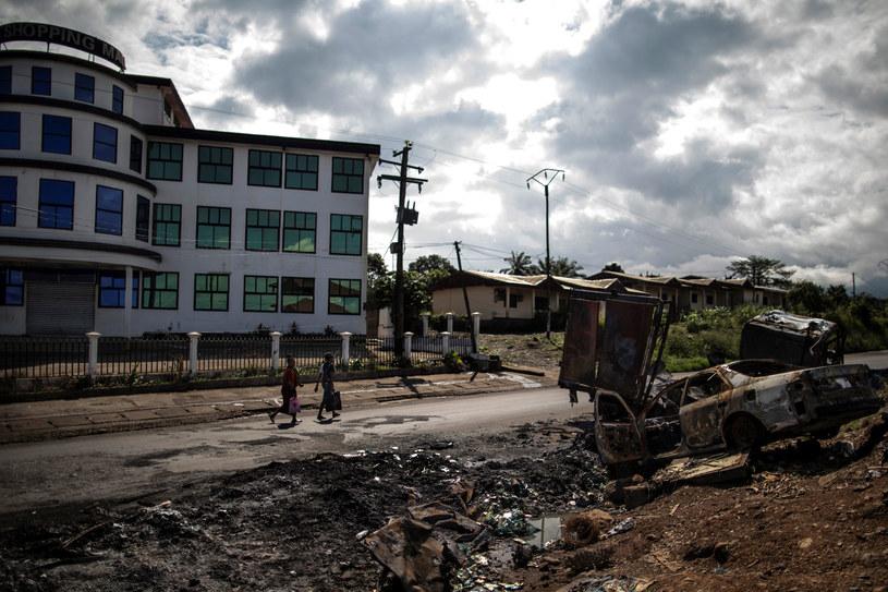 Kamerun: Separatyści w niespokojnych Regionach Południowo-Zachodnim i Północno-Zachodnim walczą o stworzenie odrębnego państwa. /MARCO LONGARI /AFP