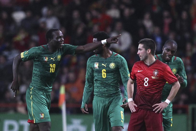 Kameruńczyk Vincent Aboubakar /AFP