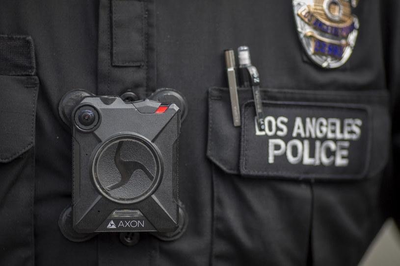 Kamery Axon są stosowane również przez polską policję /AFP