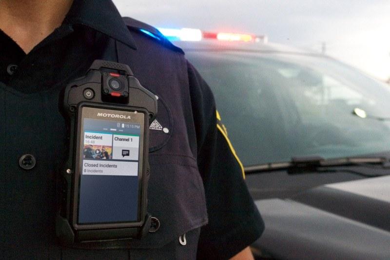 Kamery nasobne dla policjantów /materiały prasowe