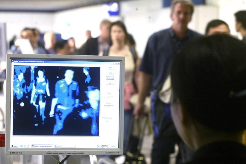 Kamery termowizyjne stosowano także w przypadku epidemii SARS /AFP