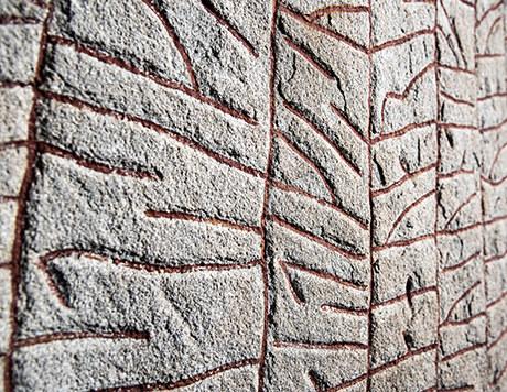 Kamień runiczny Rökstenen /foto. gu.se /