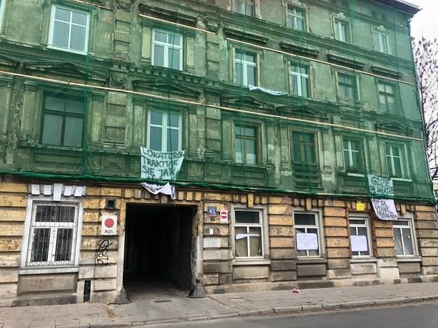 Kamienica grozi zawaleniem /Magdalena Grajnert /RMF FM