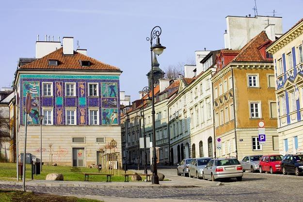 Kamienice na warszawskiej Starówce /©123RF/PICSEL