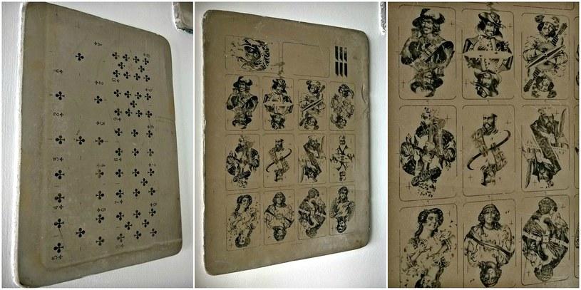 Kamienie litograficzne służyły dawniej za matrycę wzorów kart /INTERIA.PL/materiały prasowe