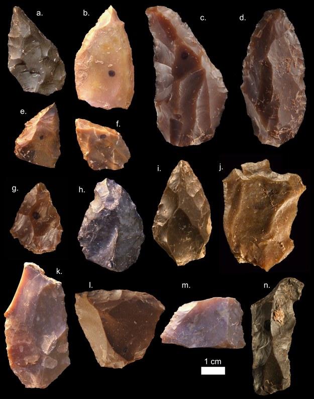Kamienne narzędzia /MOHAMMED KAMAL /PAP/EPA