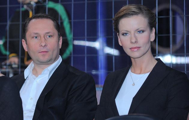 Kamil Durczok, Anita Werner, fot.Paweł Przybyszewski  /MWMedia