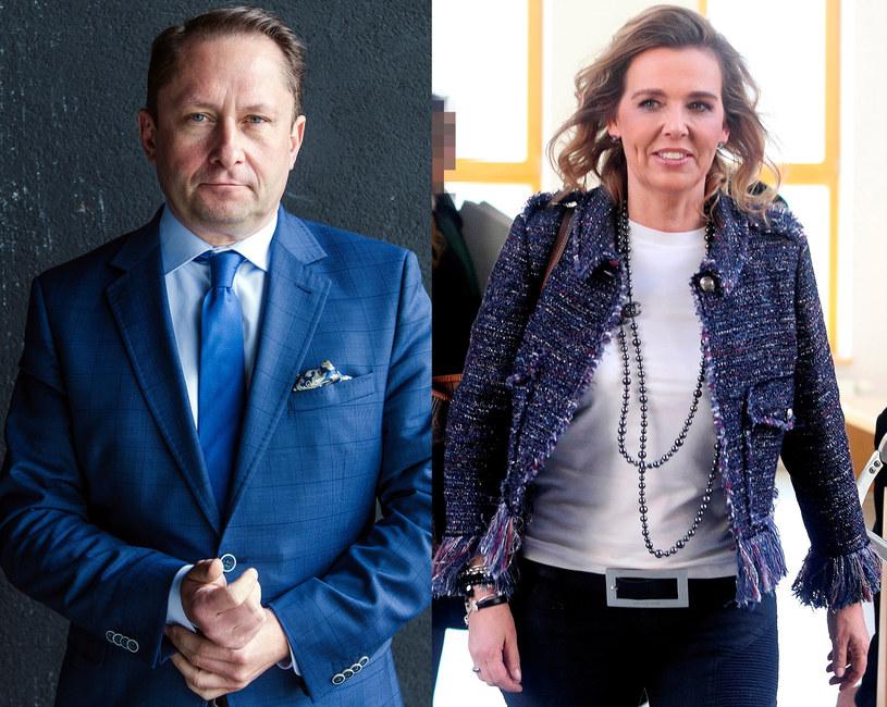 Kamil Durczok i Marianna Dufek nie są już małżeństwem /Daniel Dmitriew, ArtService  /Agencja FORUM